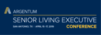2019 Argentum Senior Living Executive Conference & Expo logo